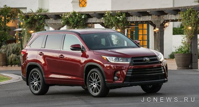 Новый Toyota Highlander заслужил оценку Top Safety Pick Award + от IIHS